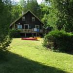A view of our Vermont lakeside cain rental. Explore the best of the Northeast Kingdom Vermont.